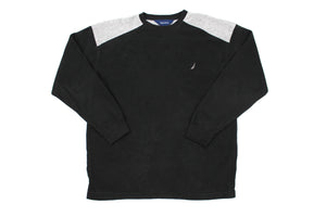 Nautica fleece sweatshirt L