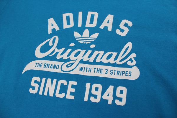 Blue Adidas Originals tee XL