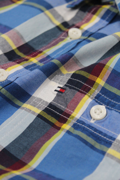 Tommy Hilfiger long sleeve check shirt S