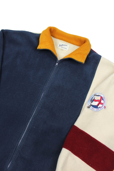 90s Adidas 1/2 zip fleece M