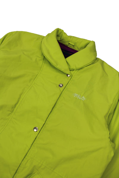 90s Fila Magic Line padded jacket L