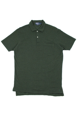 90s Ralph Lauren striped polo shirt L