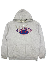 Adidas Flames UIC pullover hoodie XL