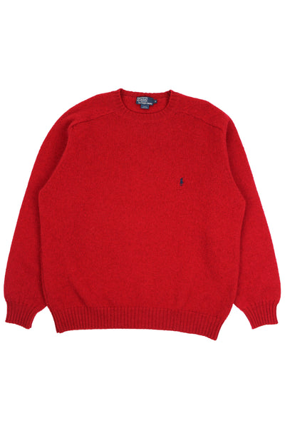 Red Ralph Lauren sweater XL
