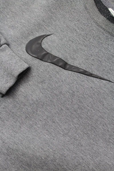 Nike central swoosh sweatshirt L