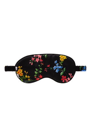 100% Silk Sleep Mask - Sandra Silk Zen Garden Collection 1002-CB - Sandra Silk Australia