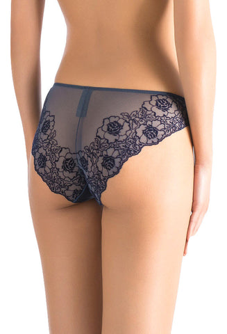 ** Soft and seamless ** Stretch Velvet Lace and Stretch Silk Satin Brief 1901 - SILK underwear , French lace, silk g string, silk knickers, French lingerie