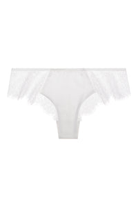 Sandra Silk Signature French Chantilly lace and stretch-silk satin briefs 1718 - SILK underwear