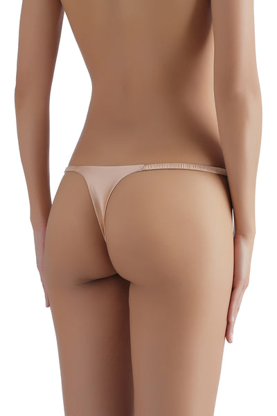** The Most Comfortable G-String EVER ** Everyday Silk G-String 1715 - SILK underwear , French lace, silk g string, silk knickers, French lingerie