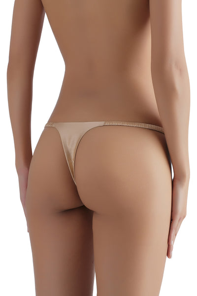 ** The Most Comfortable G-String EVER ** Everyday Silk G-String 1714 - SILK underwear , French lace, silk g string, silk knickers, French lingerie