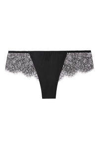 Sandra Silk Signature French Chantilly lace and stretch-silk satin briefs 1707 - SILK underwear