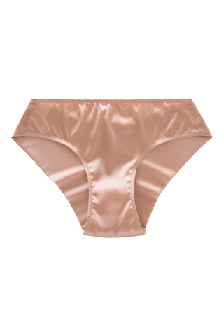 Everyday Silk Briefs with Low-Waist Seamless back (1805) - SILK underwear