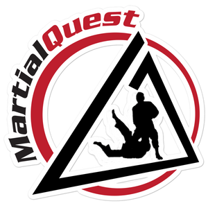 MartialQuest Vinyl Sticker