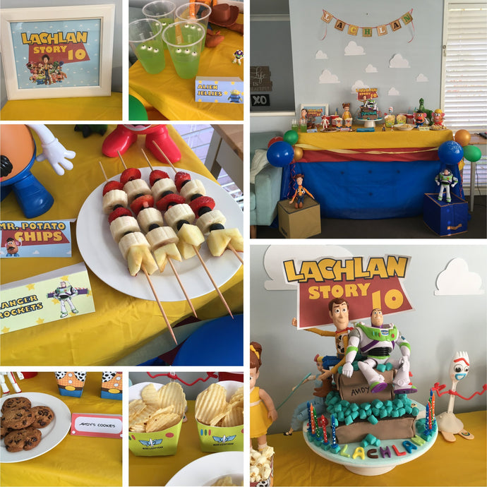 Our Toy Story Themed Party! Inspo, Ideas and FREEBIES!