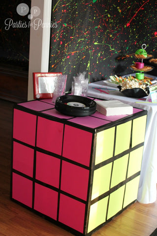 eighties party ideas