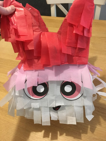 powerpuff girls pinata DIY