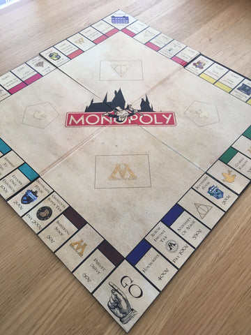 harry potter monopoly DIY