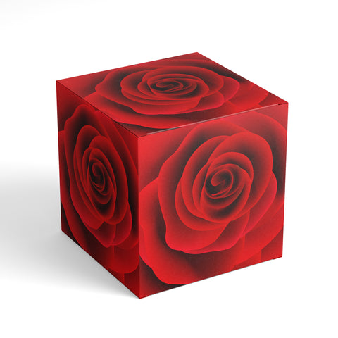 free download printable red roses gift box square favour box