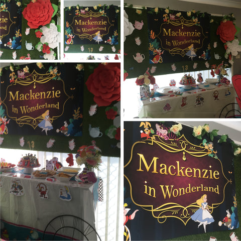 alice in wonderland party decorating ideas