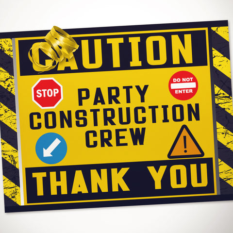 Kids Construction Party Ideas Free Party Printable