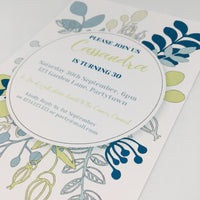 printable party invitation
