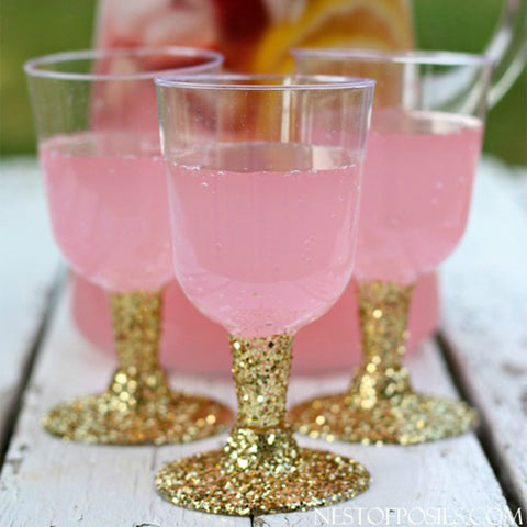 glitter party cups