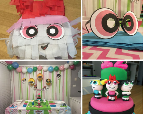 powerpuff girls party printables