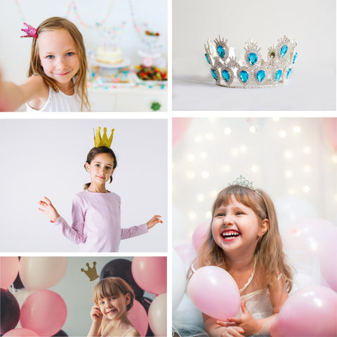 crowns and tiaras for princess parties