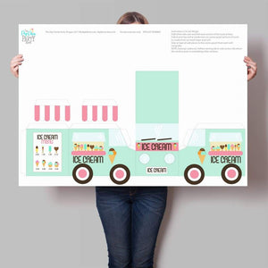 ice cream truck party printable