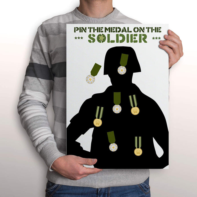 pin the medal on the soldier