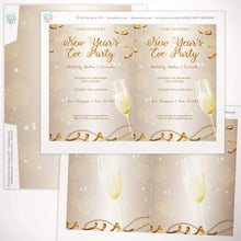 NYE party invitation printable template