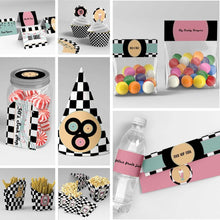 1950's diner sock hop party printables