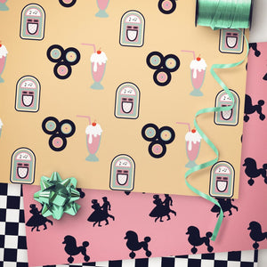 printable sock hop party decorations
