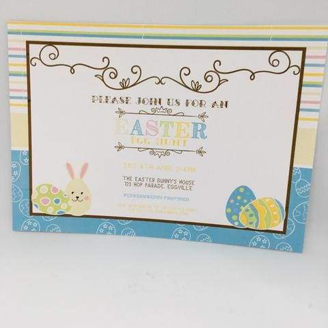 free easter party invitation