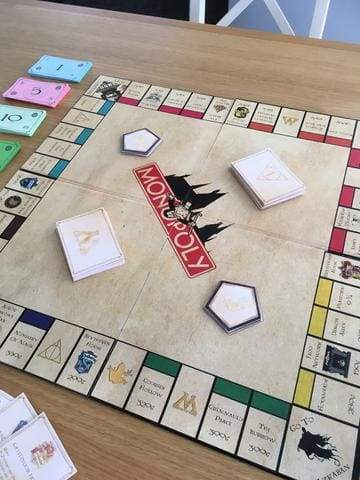 Harry Potter Monopoly Game DIY from CharlieLou