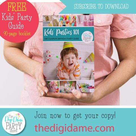 free kids party book