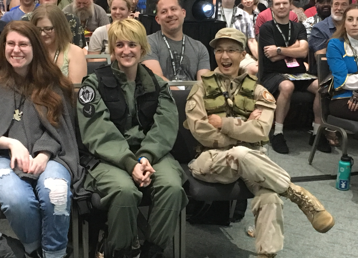 Stargate Command San Diego Comic-Con Panel Audience 2018