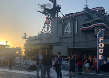 Stargate Origins: Catherine (Feature Cut) Premiere on the USS Midway 2018