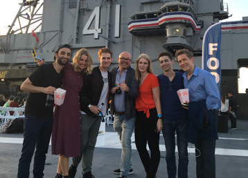 Stargate Origins: Catherine cast on the USS Midway at SDCC 2018