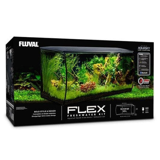 Fluval Flex 123L Aquarium Only (black).