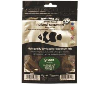 Gamma Natural Green Seaweed 12g.