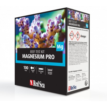 Red Sea Magnesium Pro - Titrator Test Kit.