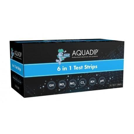 AQUADIP Water Test 6in1 - 50 Test Strips.
