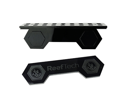Reeftech Gravity Frag Rack With Silicone Gripping Mechanism Upto 15mm Glass 18 Holes.