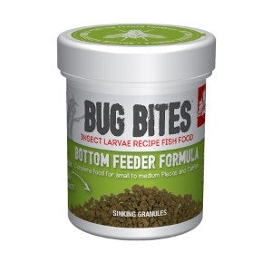 Fluval Bug Bites Bottom Feeder Fish Food Granules.