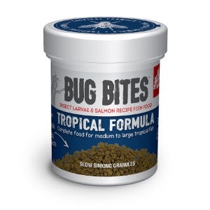 Fluval Bug Bites Tropical Fish Food Granules 1.4-2mm 45g.