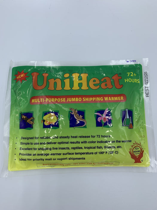 Uniheat 72 Hour Shipping Warmer.