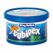 King British Tubifex Natural Fish Food 10g.