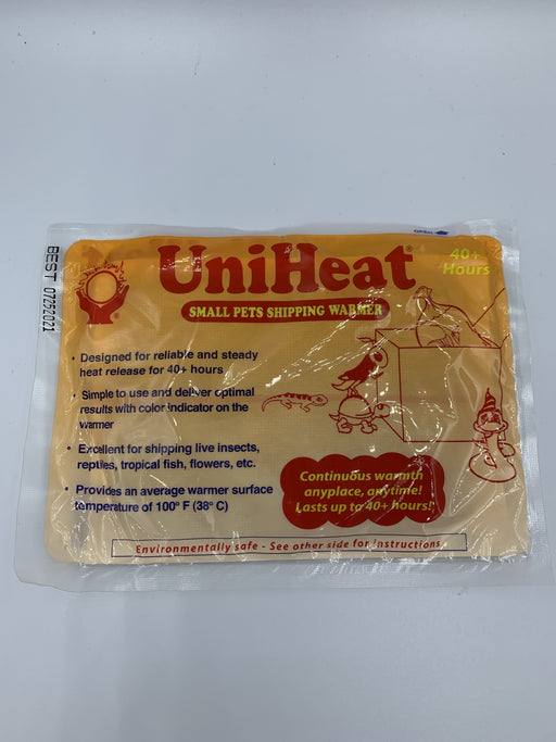 Uniheat 40 Hour Shipping Warmer.