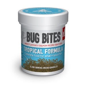 Fluval Bug Bites Tropical Fish Food Granules micro 45g.